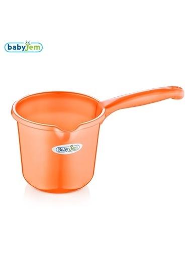 Baby Jem Babyjem Bebek Banyo Maşrapası  Oranj